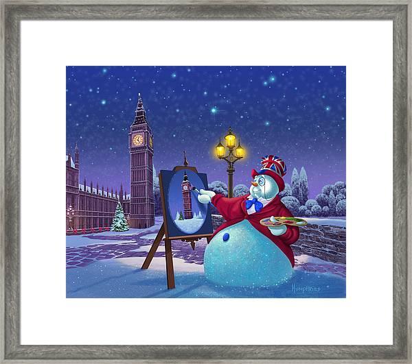 A Jolly Good Christmas Framed Print