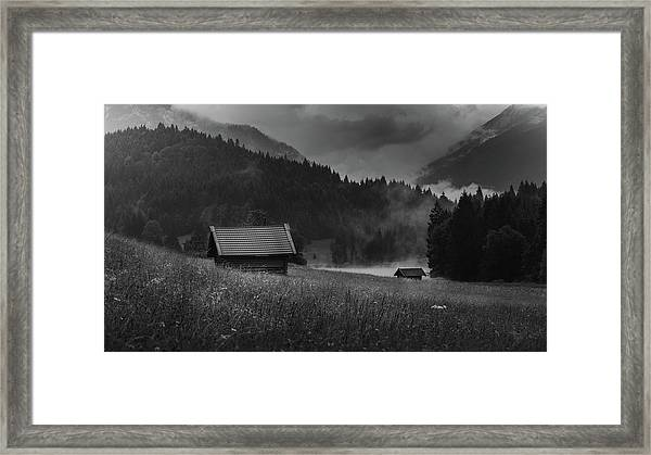 Enigmatic Alps Framed Print
