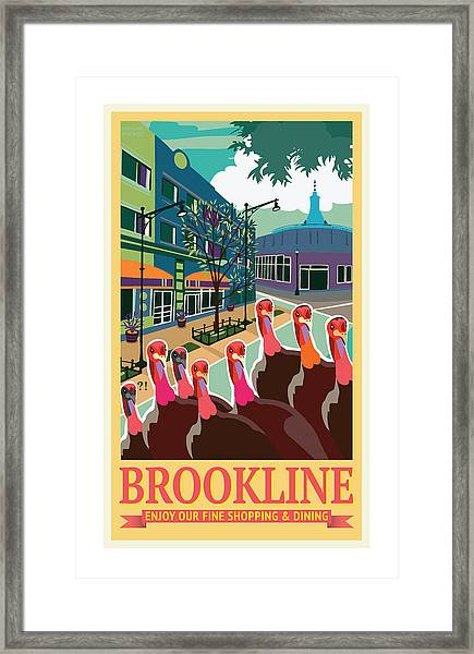 Enjoy Our Shopping Framed Print
