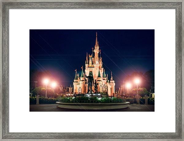 Enjoy The Magic  Framed Print