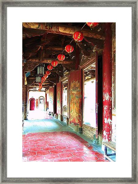 Framed Print featuring the photograph Enlightenment by HweeYen Ong
