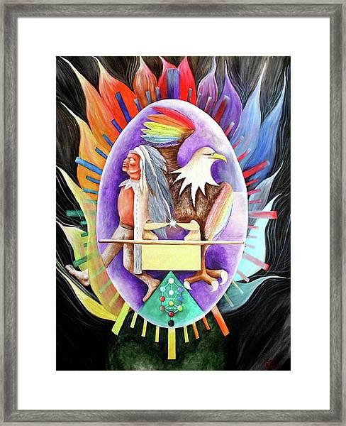 Enlightment Framed Print