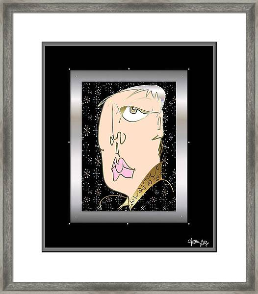 Framed Print featuring the digital art Ennui by Larry Talley