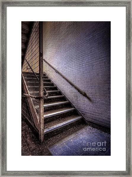 Enter The Darkness Framed Print