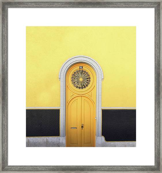 Framed Print featuring the photograph Entrance by Karla Caloca
