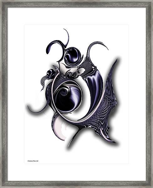 Ephemeral Purity Framed Print