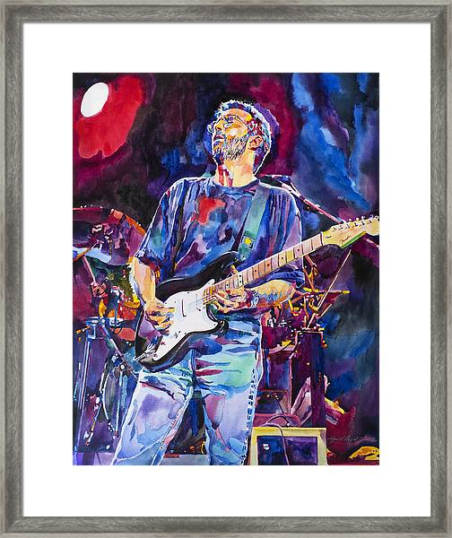 Eric Clapton And Blackie Framed Print