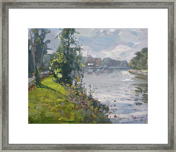 Erie Canal Framed Print