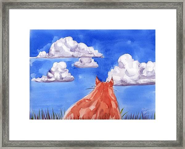 Ernesto's Dream Framed Print
