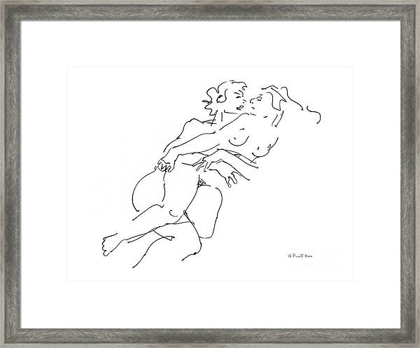 Erotic Art Drawings 13 Framed Print