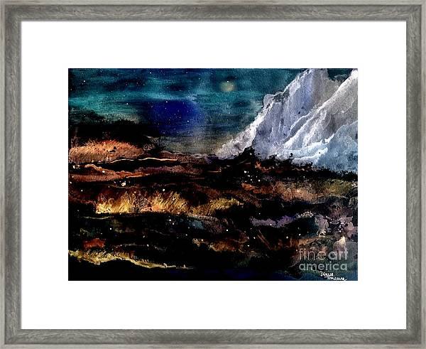 Eruption Framed Print