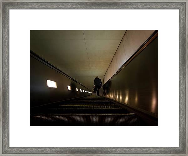 Escalation Framed Print