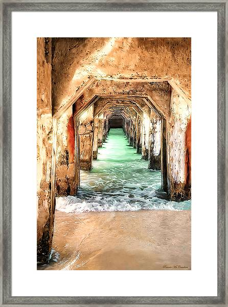Escape To Atlantis Framed Print