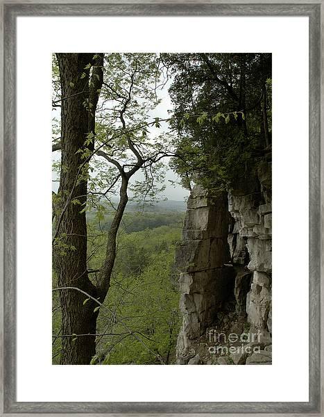 Escarpment Tunnel Framed Print