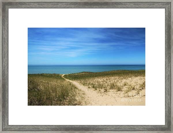 Esch Beach Framed Print