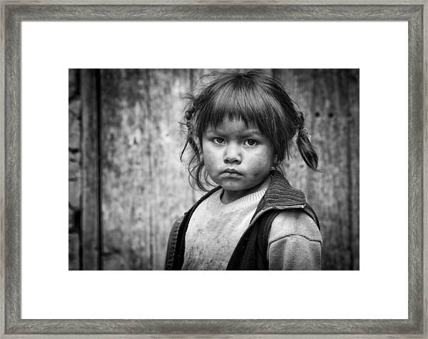 Esmeralda Framed Print