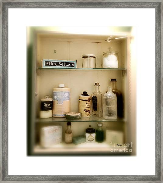 Especially Effective On Sanitary Napkins  Framed Print by Steven Digman