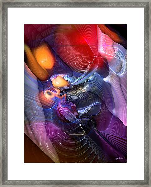Essence Of Insouciance Framed Print