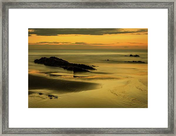 Framed Print featuring the photograph Essentially Tranquil by Nick Bywater
