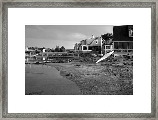 Essex At Dusk Framed Print