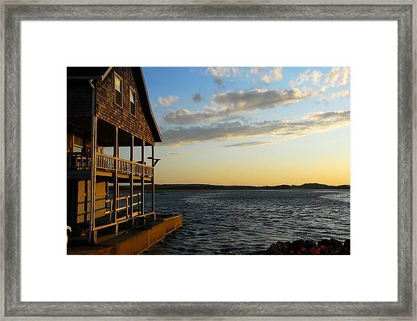 Essex Beach House Framed Print