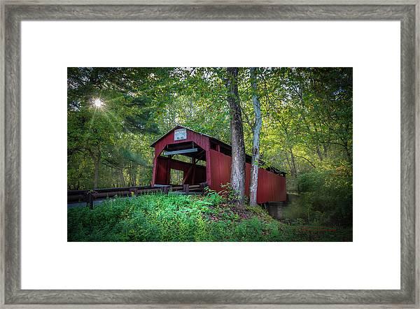 Esther Furnace Bridge Framed Print