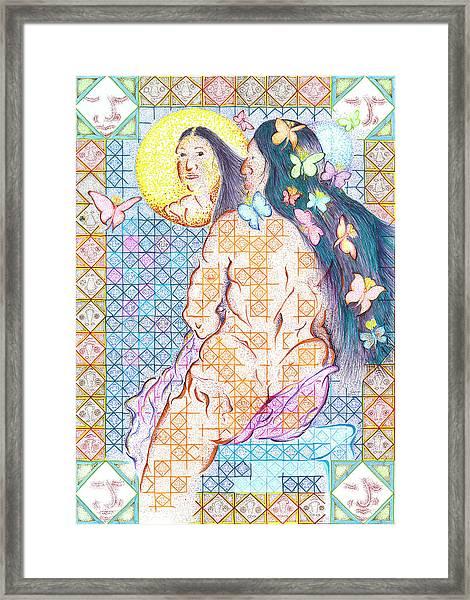Estrella De La Manana Morning Star Framed Print