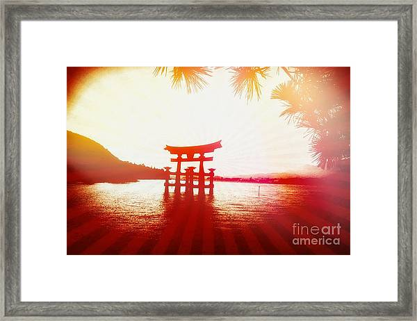 Eternal Japan Framed Print