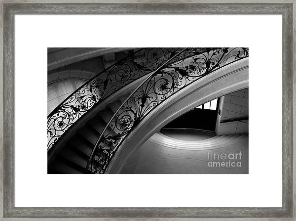 Eternal Staircase Framed Print