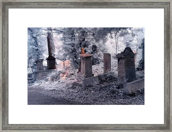 Ethereal Walk Framed Print
