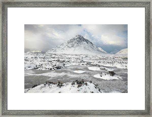 Etive Mor Winter Framed Print