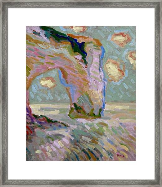 Etretat -1 Framed Print