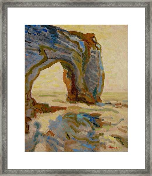Etretat-4 Framed Print