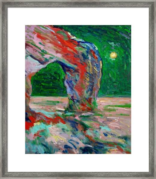 Etretat-6 Framed Print