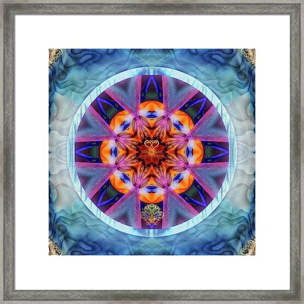 Eudaimonia-custom1 Framed Print