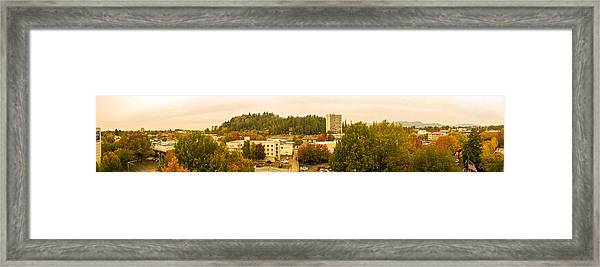 Eugene Fall Color Framed Print