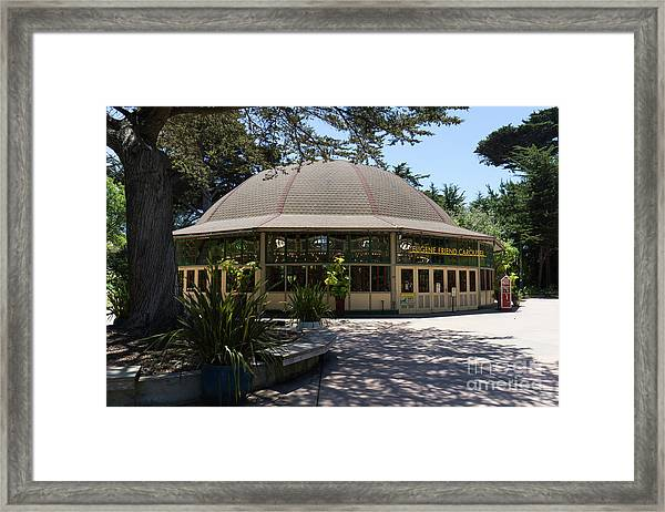 Eugene Friend Carousel At The San Francisco Zoo San Francisco California Dsc6328 Framed Print
