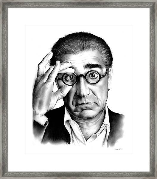 Eugene Levy Framed Print