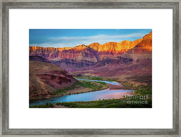 Evening At Cardenas Framed Print