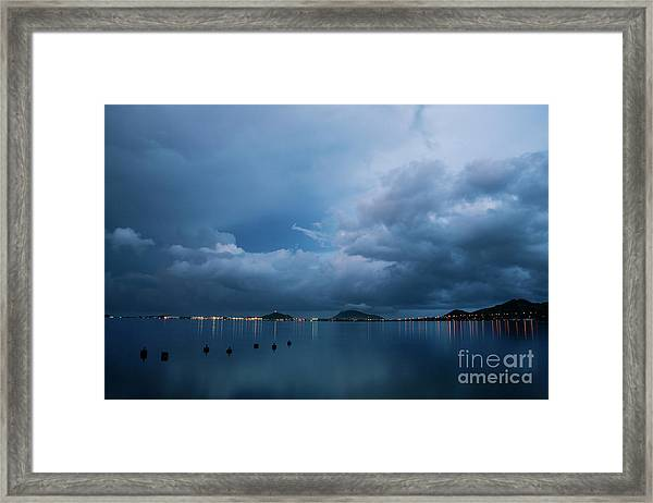Evening At Kaneohe Bay Framed Print