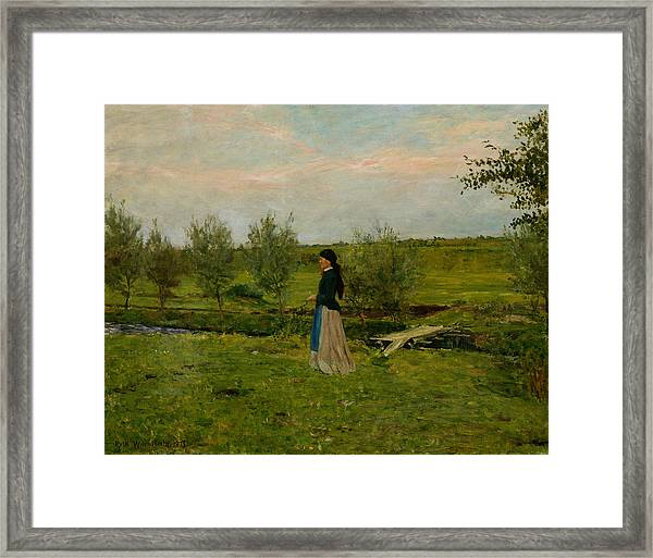 Evening At Pipping Framed Print