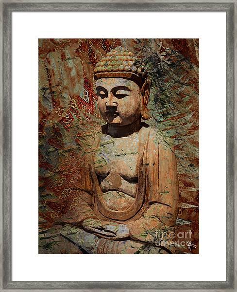Evening Meditation Framed Print