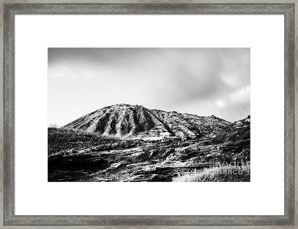 Evening On Koko Crater Framed Print