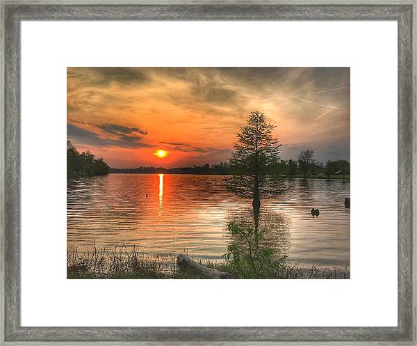 Evening Serenity  Framed Print