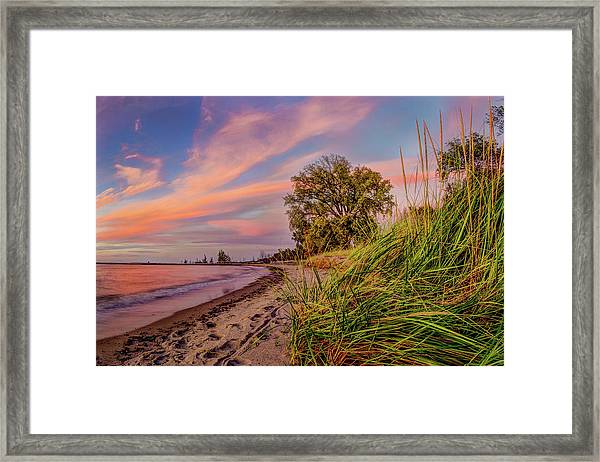Evening Sunset Framed Print