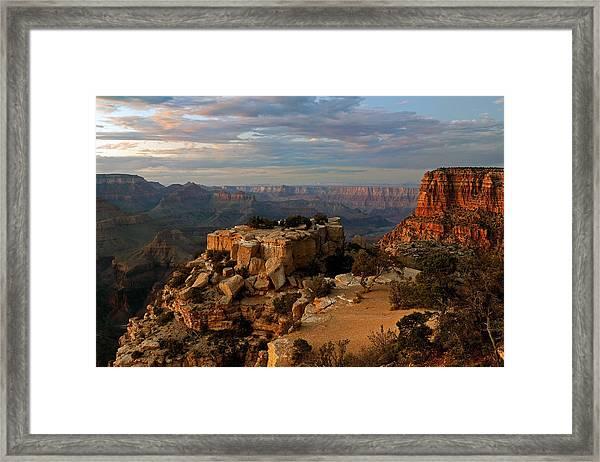 Evening Vista Framed Print