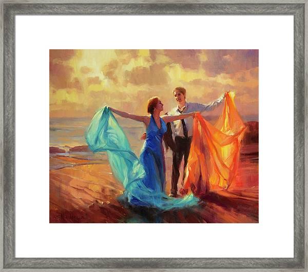Evening Waltz Framed Print