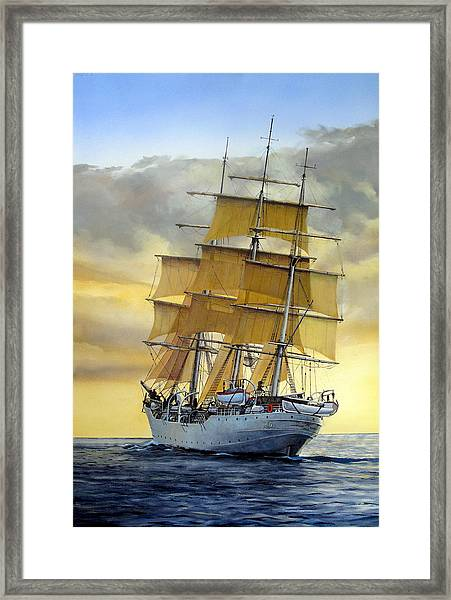 Eventide Framed Print by Tim Johnson