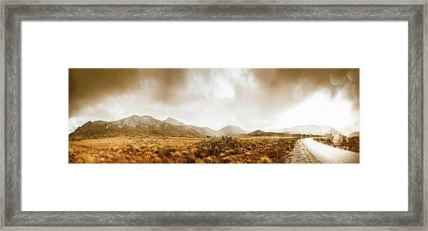 Ever Expansive Tasmania Framed Print