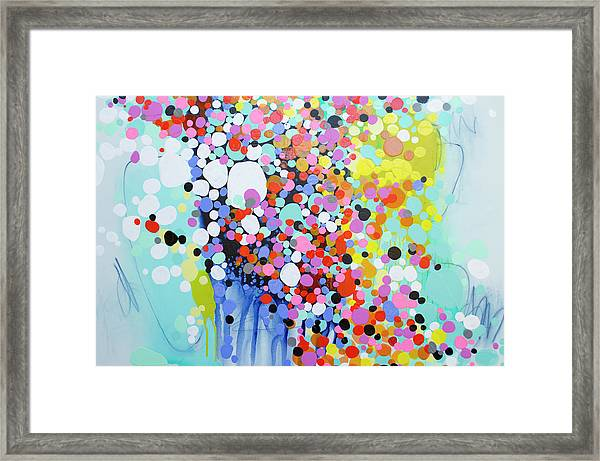 Every Second Framed Print